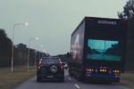 """Genialny pomysł Samsunga na """"Bezpieczne ciężarówki"""""""