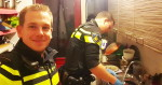 Policjanci przygotowali posiłek dla pięciorga dzieci, których matka została zabrana do szpitala