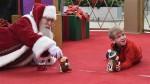 Wyjątkowy święty Mikołaj dla dzieci dotkniętych autyzmem