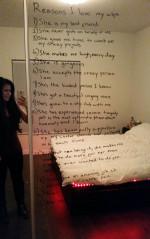 Kochający mąż zrobił listę wszystkich powodów, dla których kocha swoją walczącą z depresją żonę