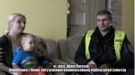 Policjant uratował siedmioosobową rodzinę