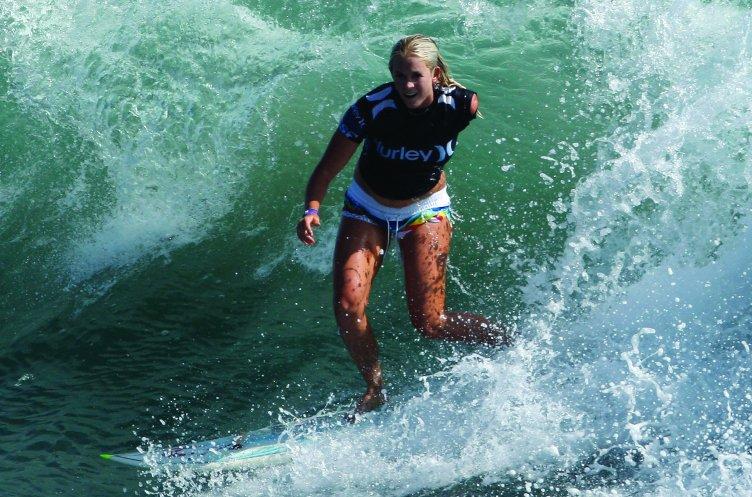 Surferka z charakterem jak to zrobili