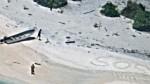 """Przez tydzień byli uwięzieni na bezludnej wyspie, uratował ich napis """"SOS"""" na piasku"""