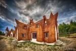 Sami zbudowali bajkowy zamek w Transylwanii