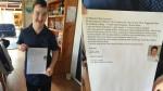 Chłopak z zespołem Downa szuka pracy, matka opublikowała jego list w sieci