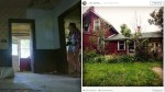 Wiele razy mijała dom, który uważała za opuszczony, pewnego dnia postanowiła wejść do środka i spotkała tam staruszka