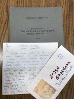 List miłosny ukryty między kartami starej książki