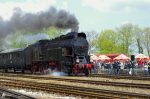 Parowozy wróciły na regularne linie, wożą pasażerów po Wielkopolsce