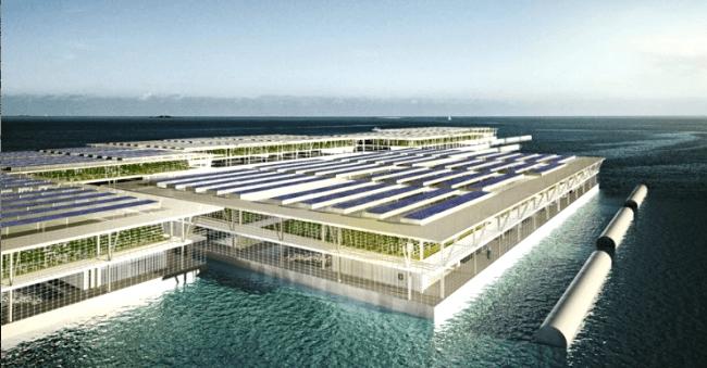 Hiszpanie wymyślili pływające farmy