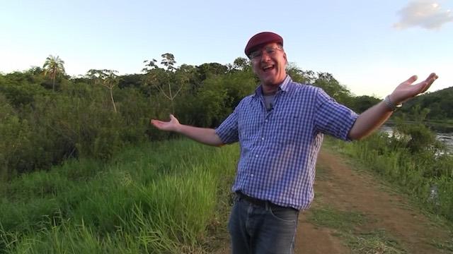 Gospodarz przekształcił swoje tereny w  Las Deszczowy, w ciągu zaledwie 8 lat