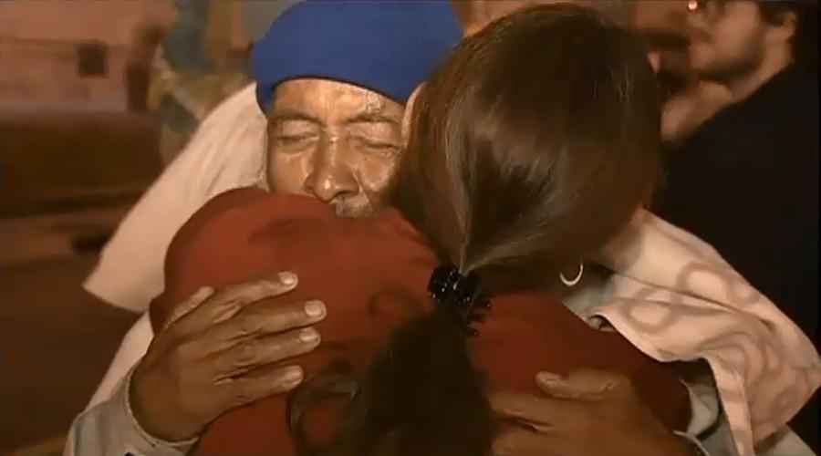 Bezdomny mężczyzna odnajduje rodzinę po 40 latach, dzięki portalom społecznościowym