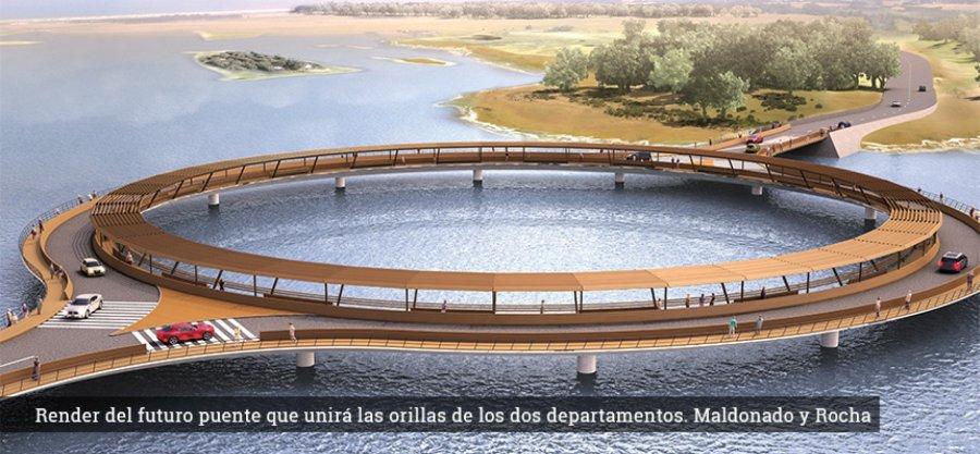 W Urugwaju powstał okrągły most