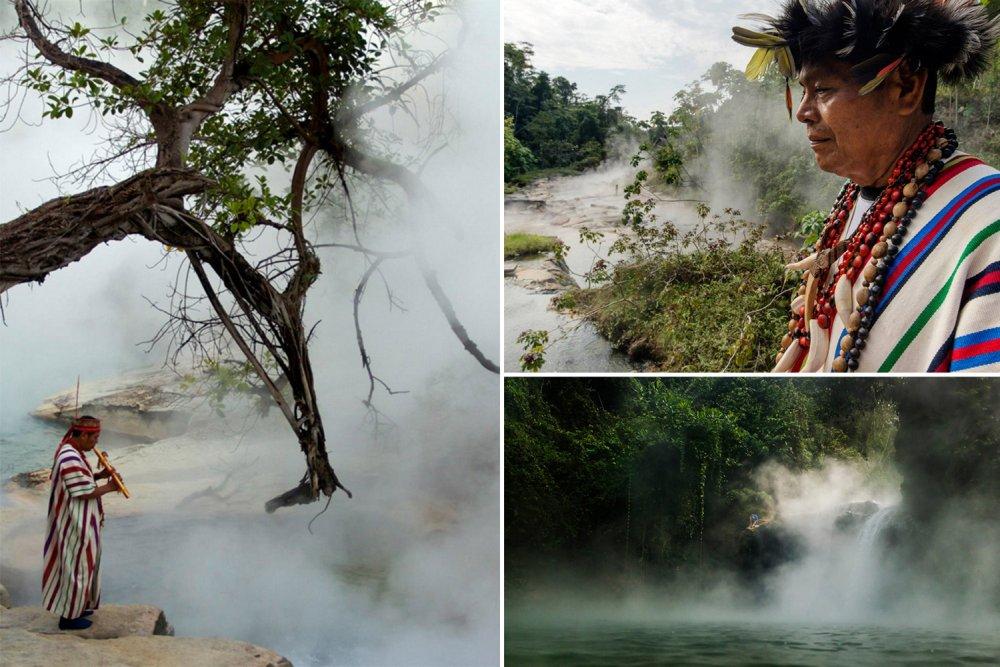 """""""Gotująca się woda"""" – niezwykła rzeka Amazonii"""