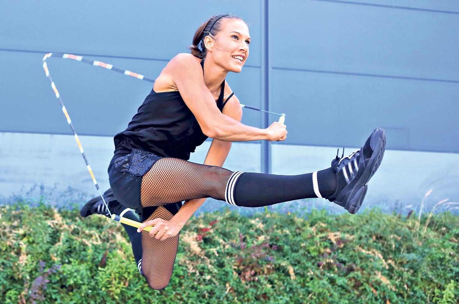 Kto by pomyślał że skakanie na skakance może się stać sposobem na życie