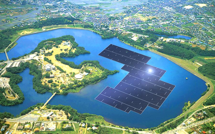 W-Japonii-na-sztucznym-jeziorze-Yamakura-powstaje-największa-na-świecie-pływająca-farma-solarna