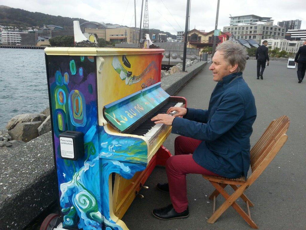 Polski artysta zaskoczył ludzi w Nowej Zelandii