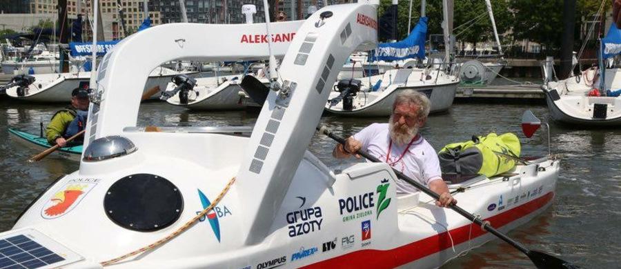 Aleksander Doba po raz trzeci wypłynął na Atlantyk