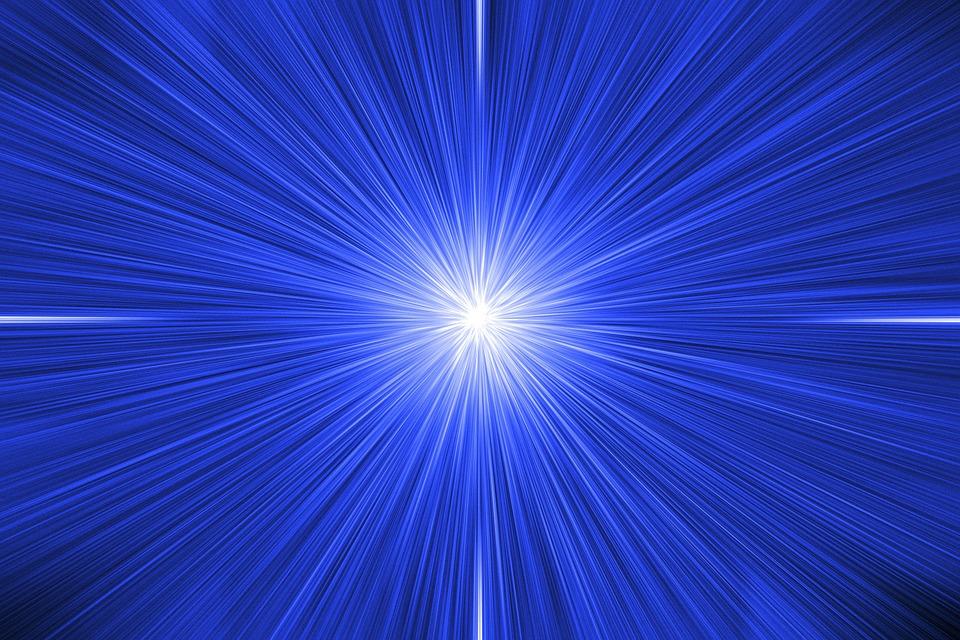 Poczęciu człowieka towarzyszy rozbłysk światła