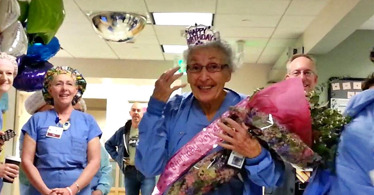 Piękny jubileusz w USA: 90-te urodziny najstarszej czynnej zawodowo pielęgniarki