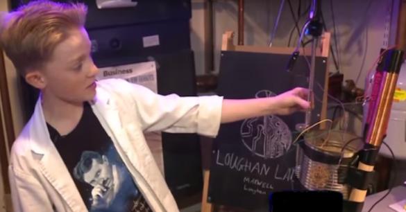 16-letni chłopiec kierując się badaniami Tesli zbudował generator darmowej energii