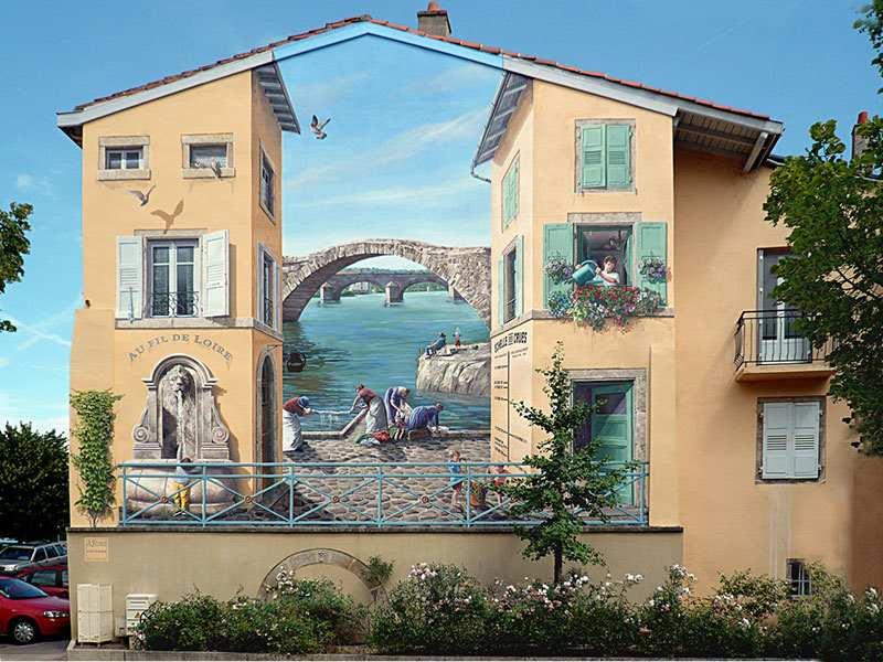Murale, które żyją