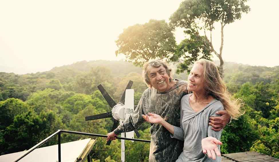 Ta para kupiła 300 akrów ziemi i stworzyła pierwszy w Indiach prywatny rezerwat dzikiego życia SAI
