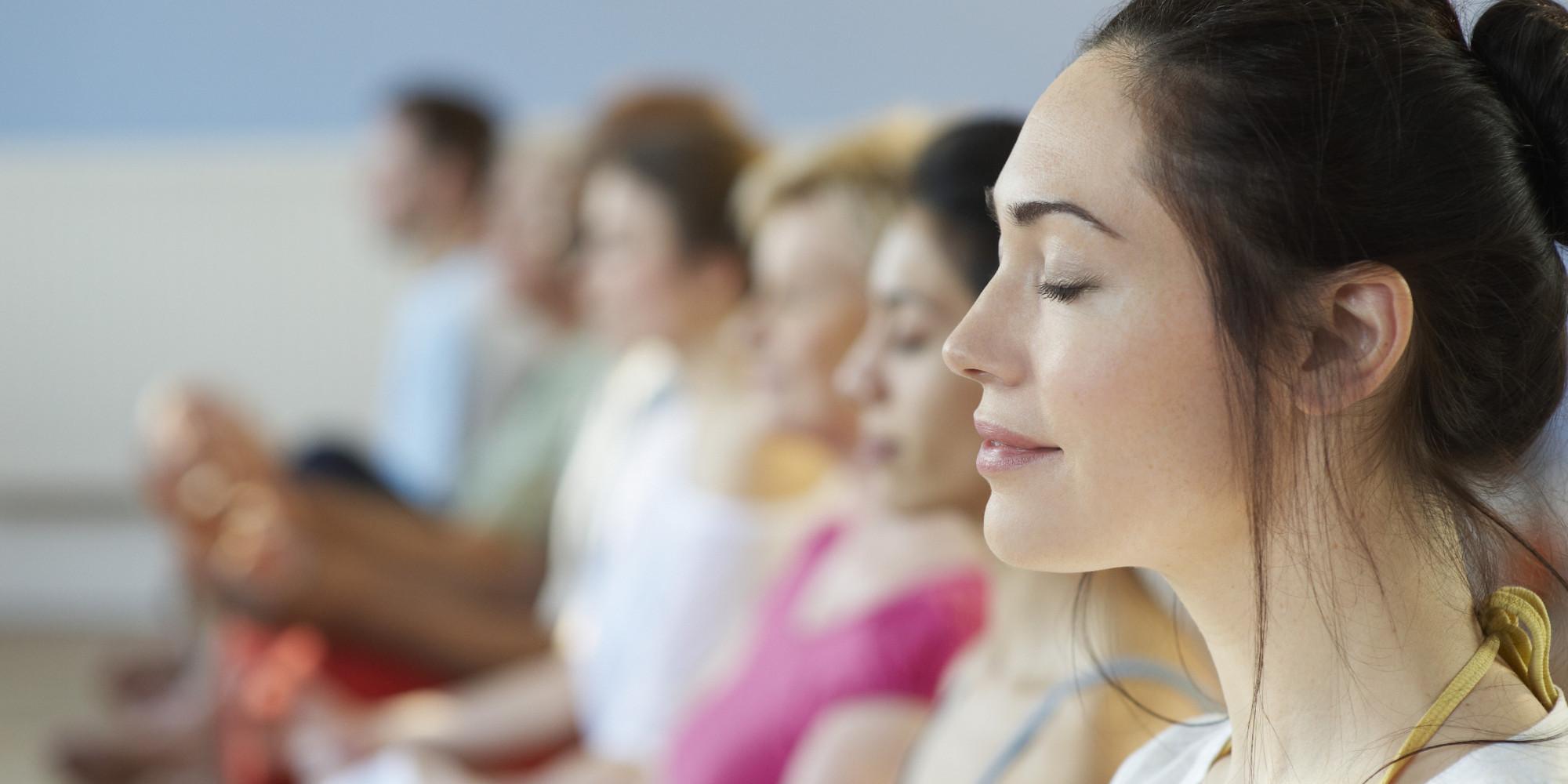 Grupowa medytacja dosłownie zmienia świat
