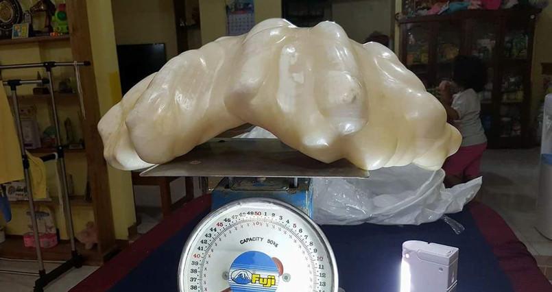 Rybak wyłowił największą perłę świata, przez 10 lat trzymał ją jako pamiątkę