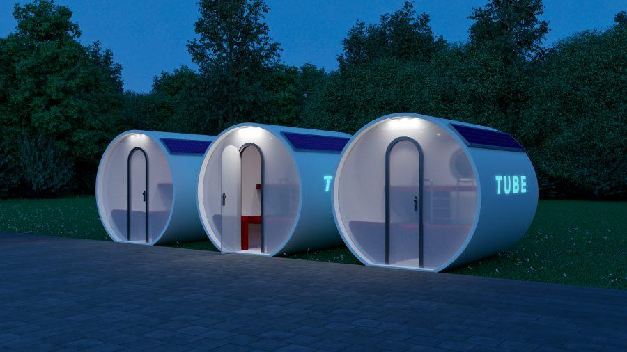 Tube. Przenośna sypialnia przyszłości
