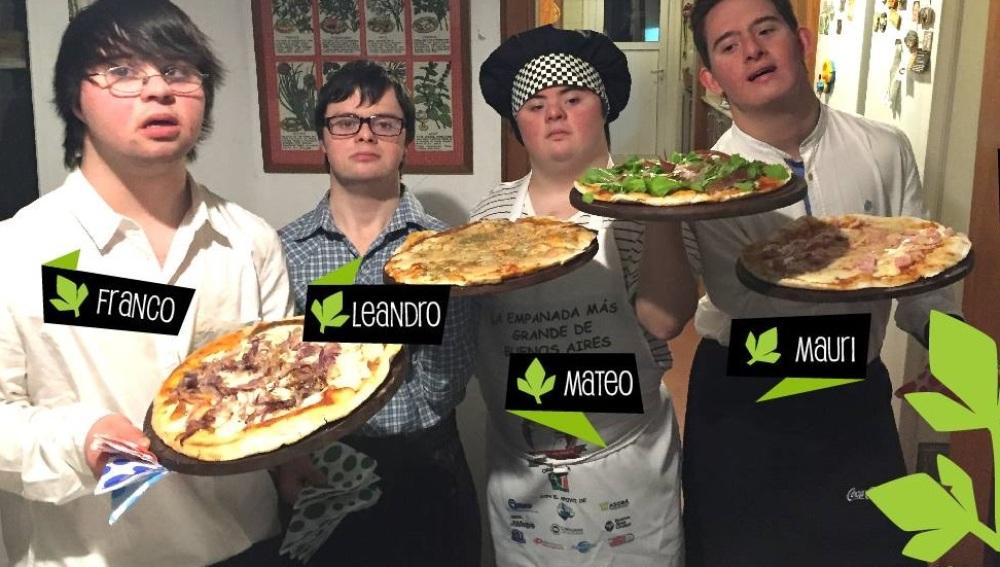 Jedyna taka pizzeria na świecie. Osoby z Zespołem Downa założyły firmę cateringową