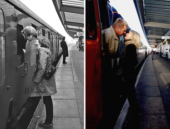 Uliczny fotograf odnajduje ludzi, których sfotografował 40 lat temu, by ponownie zrobić im zdjęcia