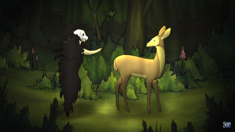 Poruszająca animacja dotycząca życia i śmierci