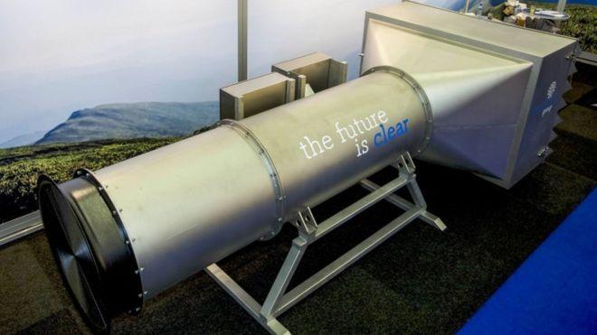 Holenderscy naukowcy zaprojektowali gigantyczny odkurzacz, który oczyści powietrze z zanieczyszczeń
