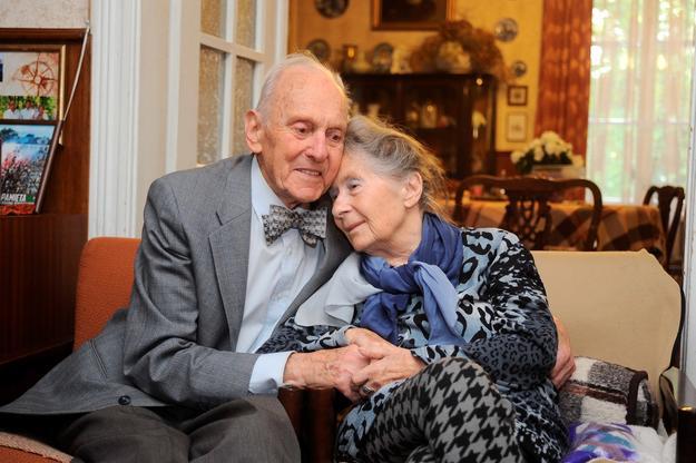 Kochankowie odnaleźli się po 72 latach