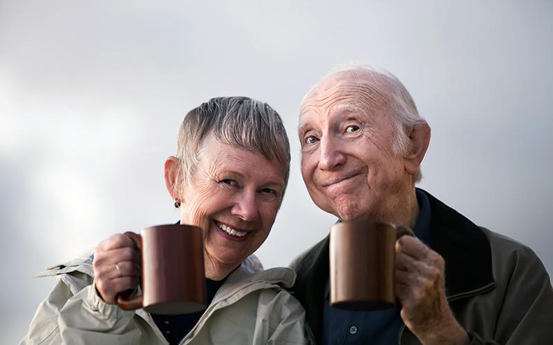Intensywna radość z życia sekretem długowieczności