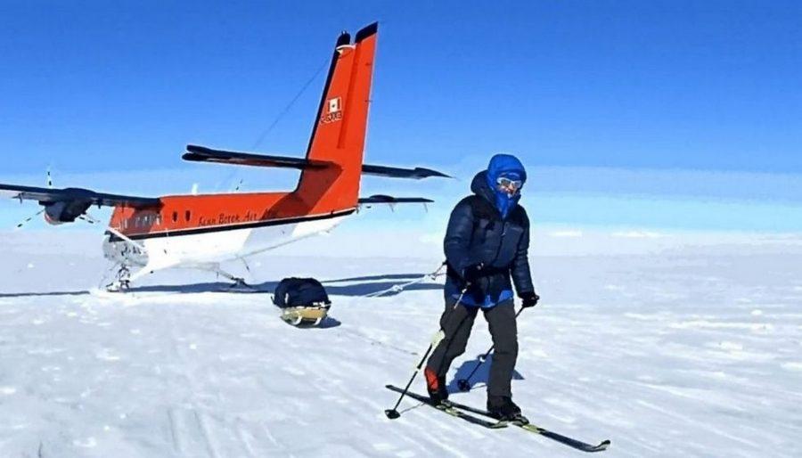 Małgorzata Wojtaczka pierwszą Polką na biegunie południowym po samotnym marszu
