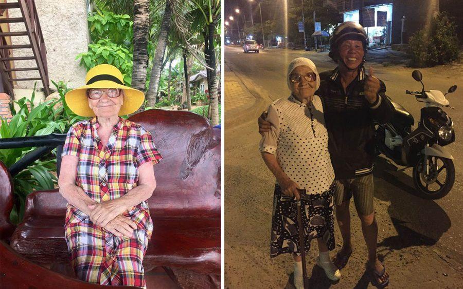 89-letnia babcia pochodząca z Rosji zwiedza świat!