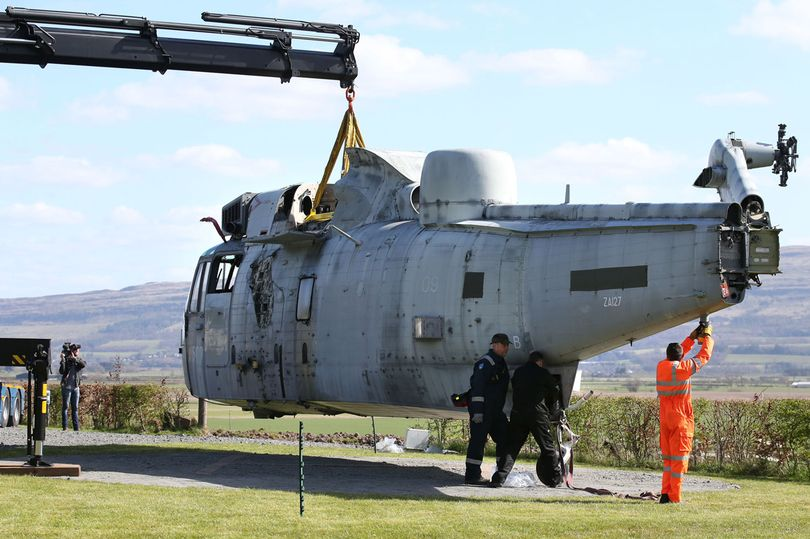 Były helikopter brytyjskiej marynarki wojennej przeznaczony do zadań poszukiwawczo-ratunkowych wrócił do służby – lecz tym razem jako nietypowy domek letniskowy