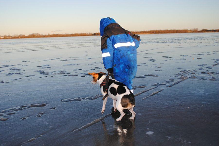 Jak wydostać się z wody, kiedy załamie się pod nami lód