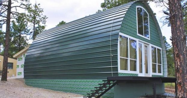 Ten dom zbudowano w 2 dni, kosztował niewiele ponad 30 tys. złotych