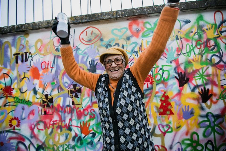 Portugalski gang graficiarzy seniorów
