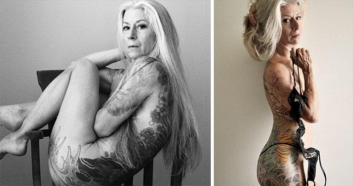 56-latka postawiła się dyskryminacji ze względu na wiek i opublikowała piękne akty