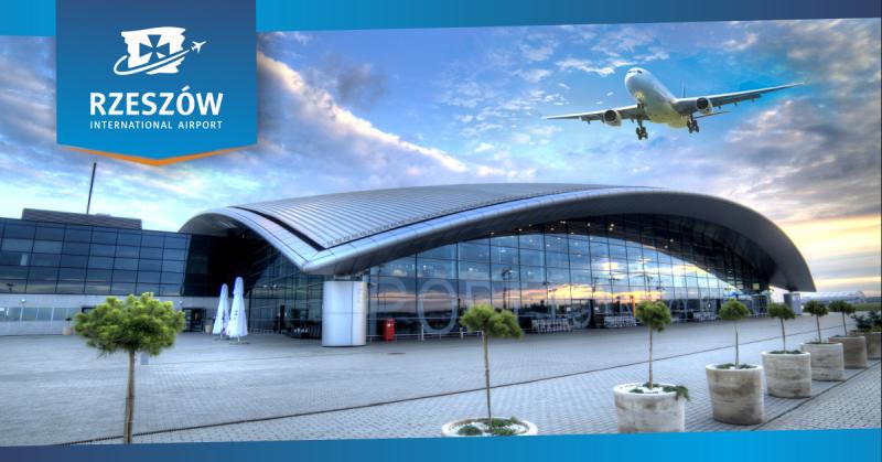 Lotnisko w Jasionce znalazło się na liście najlepszych lotnisk w Europie