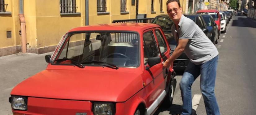 """Tom Hanks dziękuje za Fiata 126p. Mówi po polsku: """"Fantastycznie!"""""""