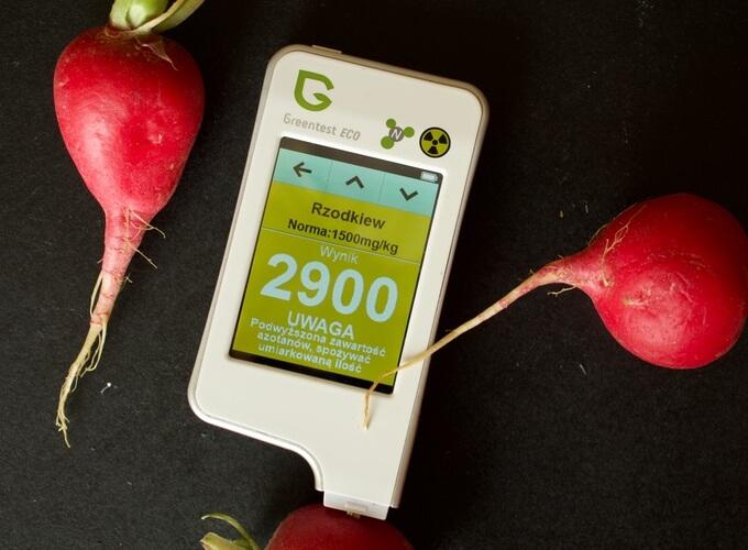 GREENTEST – wykrywacz chemii w warzywach i owocach
