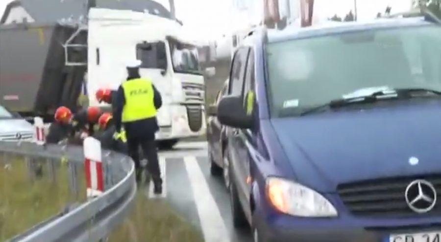 Policjant podczas wywiadu usłyszał krzyk kobiety, natychmiast ruszył na pomoc