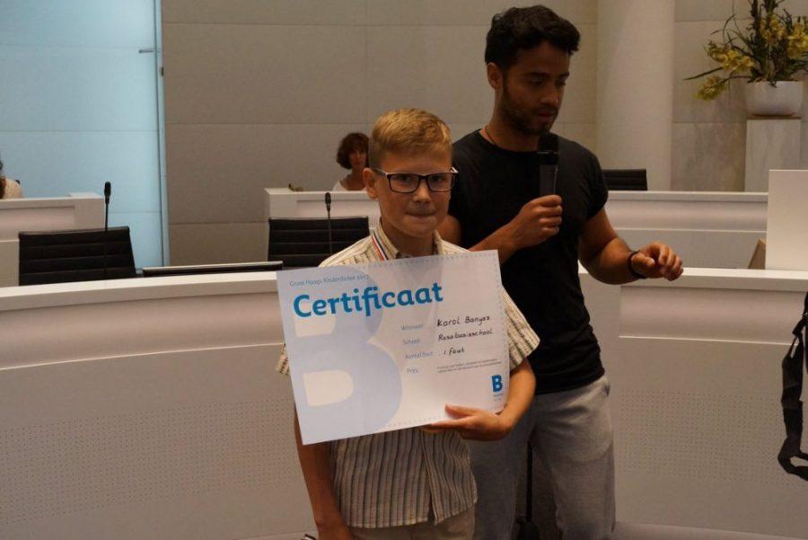 11-letni Karol z Polski został mistrzem holenderskiej ortografii