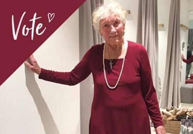 93-latka szuka kreacji na ślub. Prosi o pomoc internautów