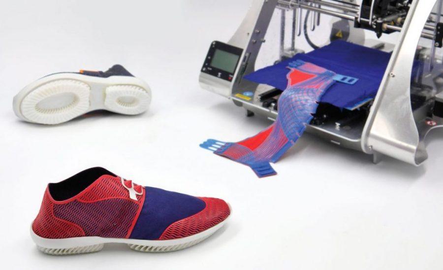 Buty z drukarki 3D. Sam je zaprojektujesz w aplikacji, a potem sam złożysz