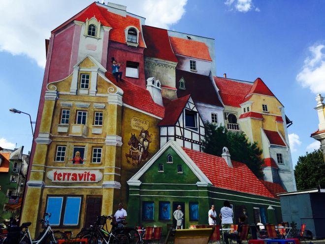 Trójwymiarowy mural w Poznaniu zachwyca świat